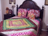 Sari Designer Indian Duvet Decorative Bedding Ethnic Home ...