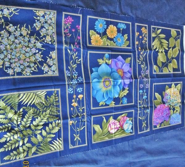 'botanica' Color Principle 4 Henry Glass Cotton Floral