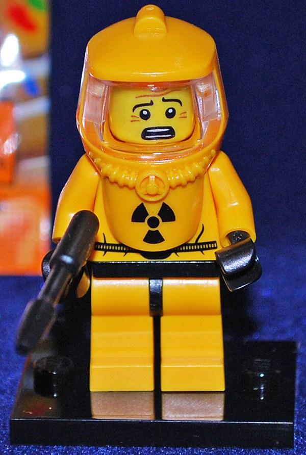Lego Minifigures Hazmat Guy in Suit Series 4 Set 8804