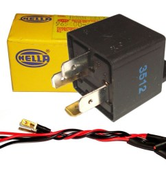 high quality hella horn wiring harness kit for 12 volt relay [ 1024 x 768 Pixel ]