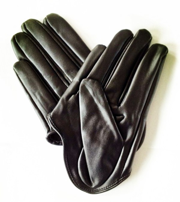 Fashion Glove Women Pu Leather Palm Gloves Punk