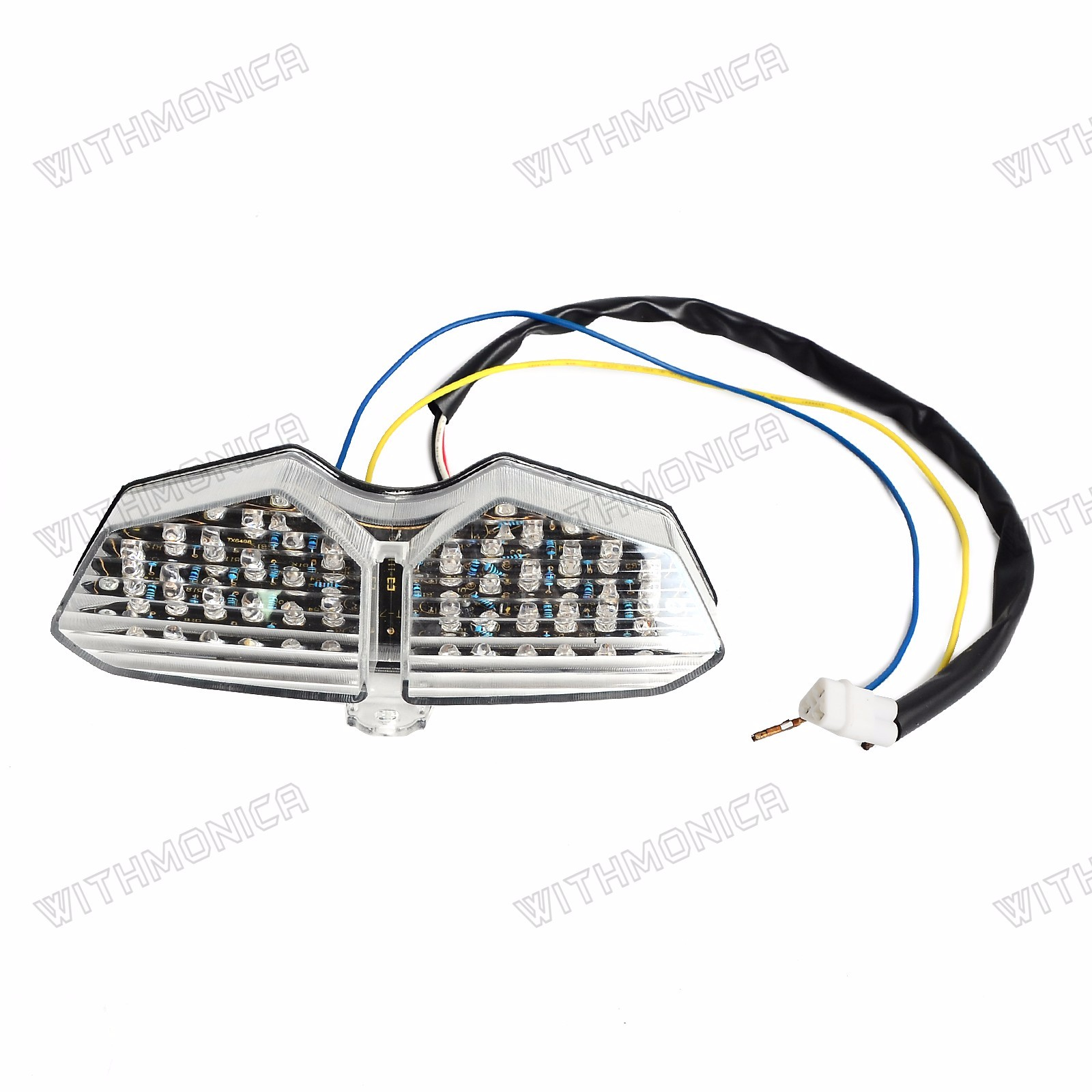 Tail Light For Yamaha YZF R6 2003-2005 R6S 2006-2008 LED
