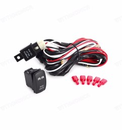 details about 2m wiring harness blue rear led light bar laser rocker switch 12v dc 5pin utv [ 1600 x 1600 Pixel ]