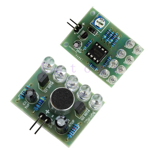small resolution of blue led sound control melody lamp blue lm358 breathing light diy kits