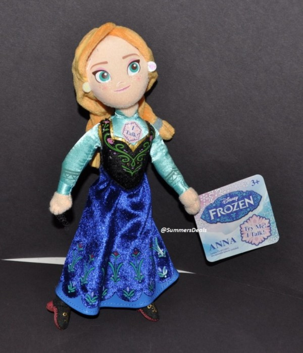 "Disney Frozen Anna Plush Talking Soft Toy 8"" 20cm"