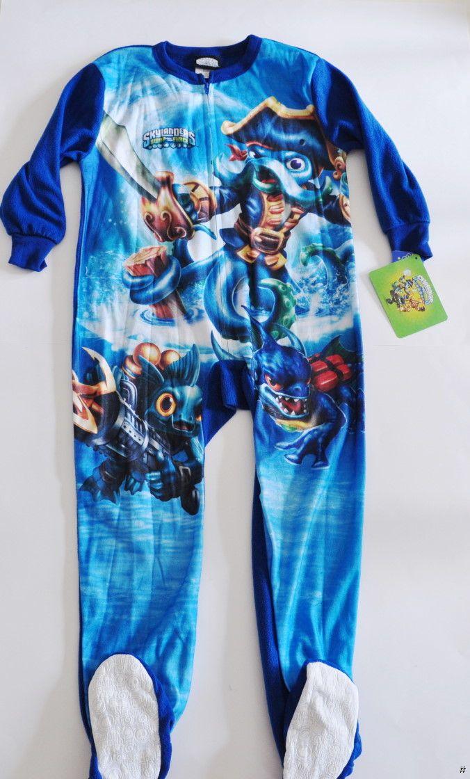 boys footed sleeper pajamas