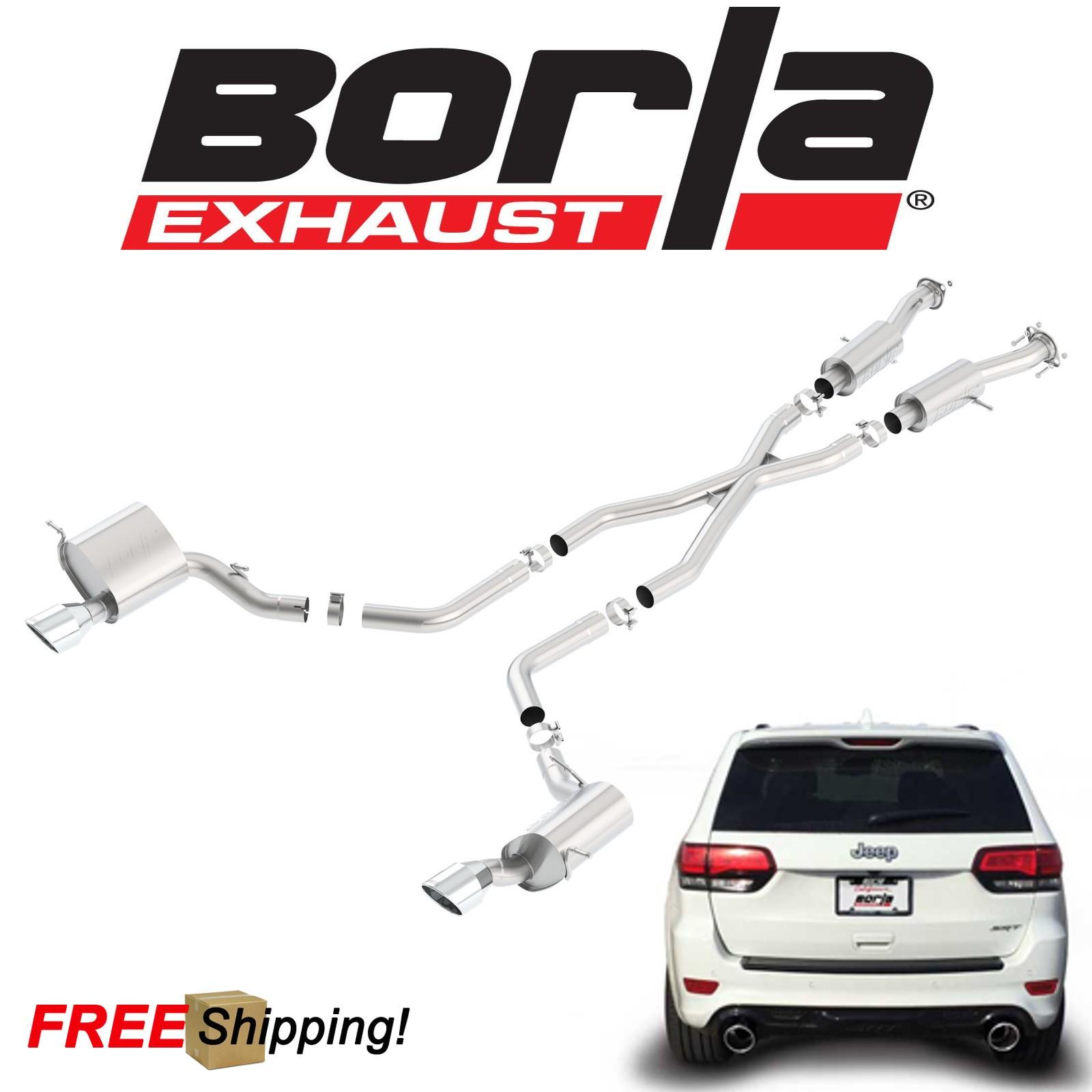 borla s type cat back exhaust kit for