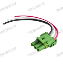 details about tpi tbi chevy gm map wire pigtail connector manifold absolute pressure sensor [ 1600 x 1600 Pixel ]