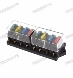 details about new car vehicle 12v 24v 8 way circuit atc ato standard blade fuse box holder [ 1600 x 1600 Pixel ]