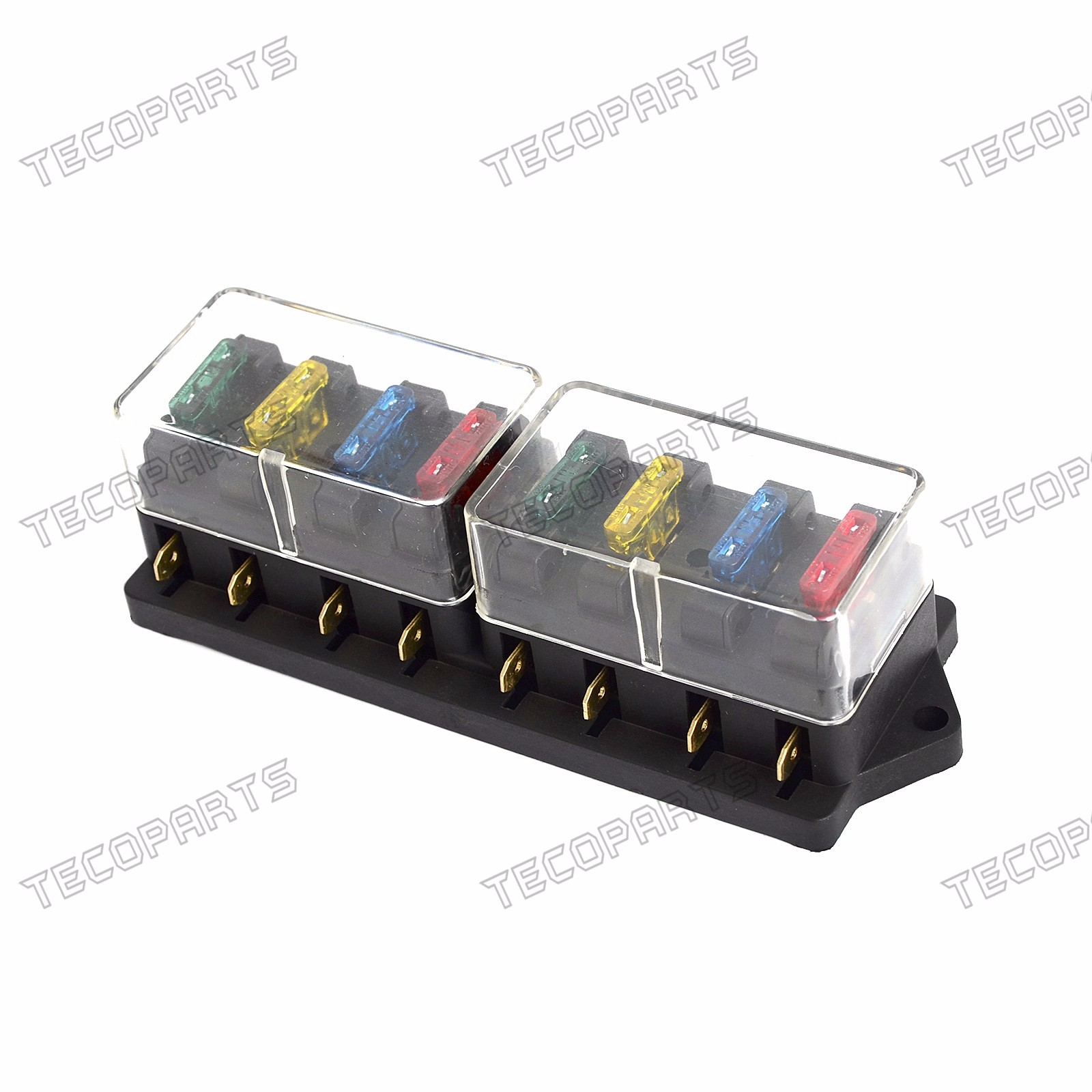 hight resolution of details about new car vehicle 12v 24v 8 way circuit atc ato standard blade fuse box holder