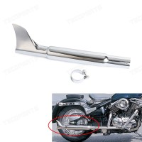 45mm Slip-on Universal Fishtail Exhaust Muffler for Most ...