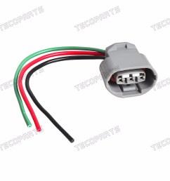 details about alternator repair plug harness 3 wire connector fit nissan altima 2 5l 07 08 09 [ 1600 x 1600 Pixel ]