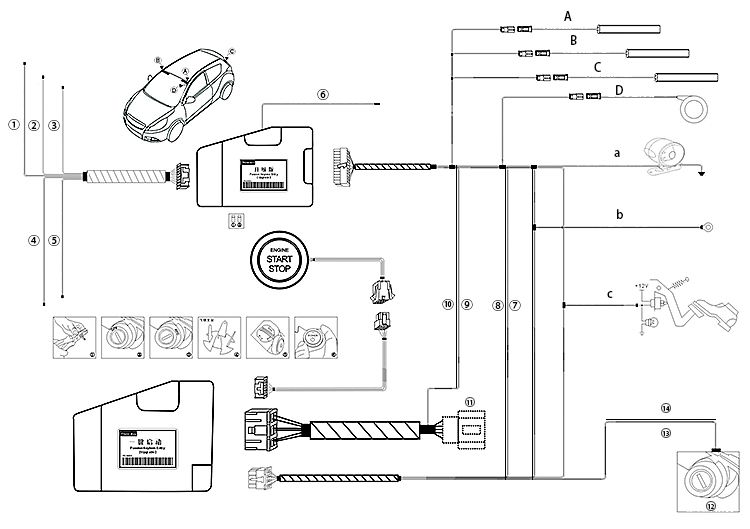 mercedes benz remote start wiring diagram electrical circuit