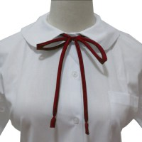 Student School Uniform Skinny Bowknot Bow Tie For Women ...