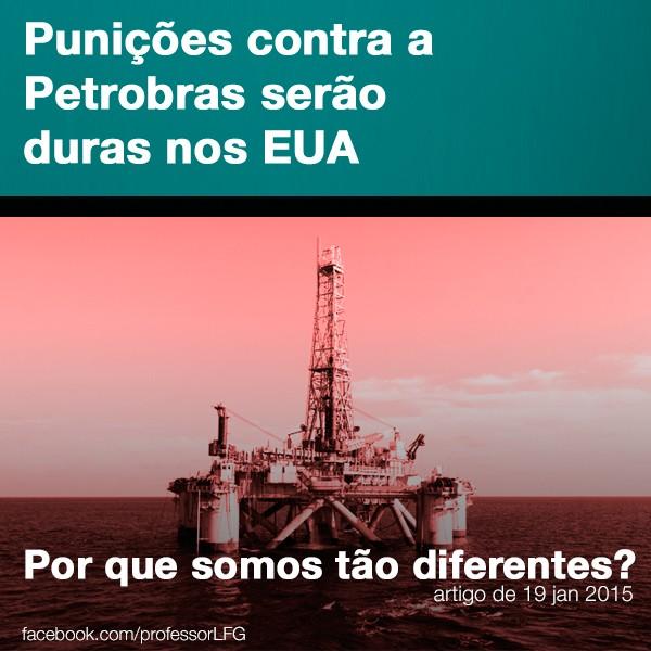 Punies contra a Petrobras sero duras nos EUA