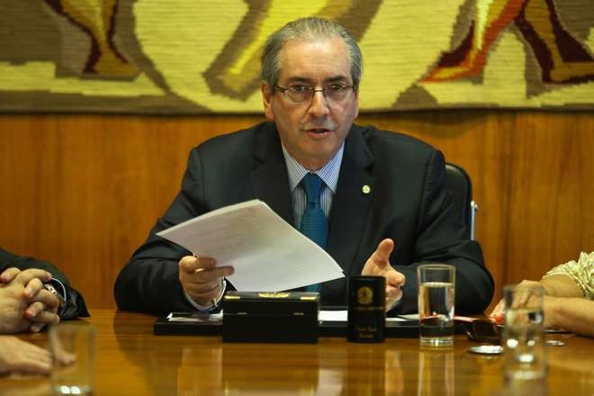 Eduardo Cunha compara sua situao mesma do ex-presidente Lula e da presidente Dilma