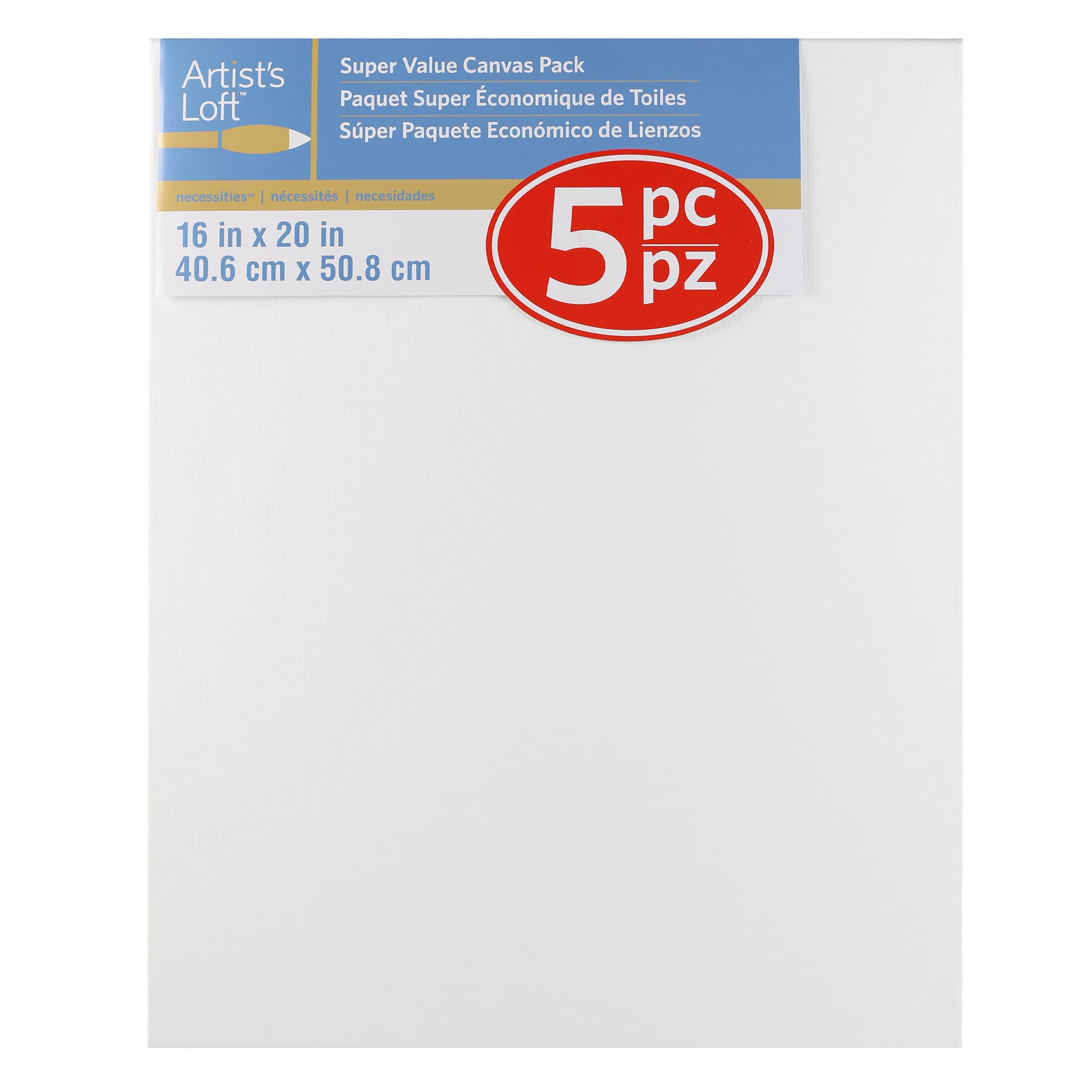blank canvases art supplies