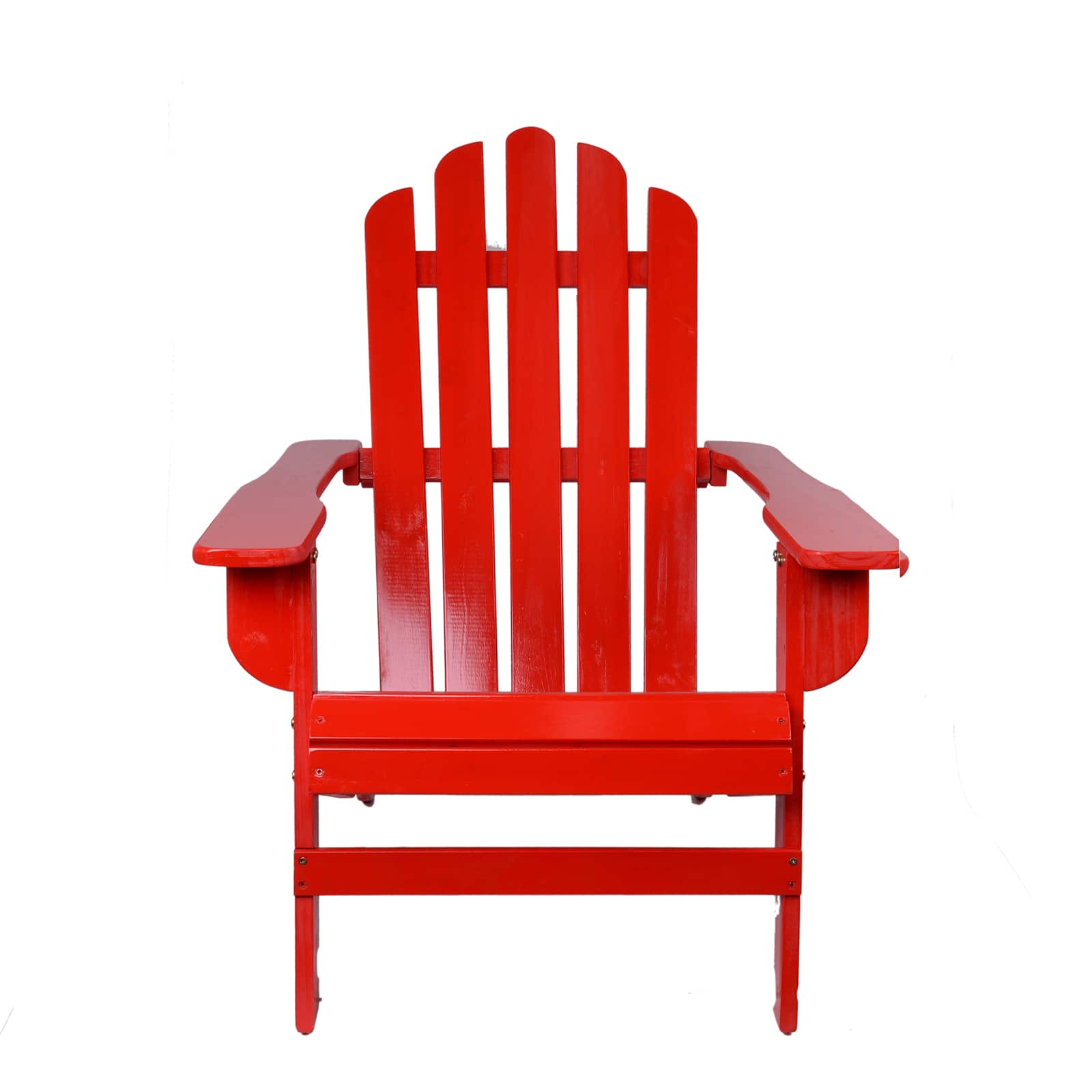 Red Adirondack Chairs Red Cedarwood Adirondack Chair By Ashland