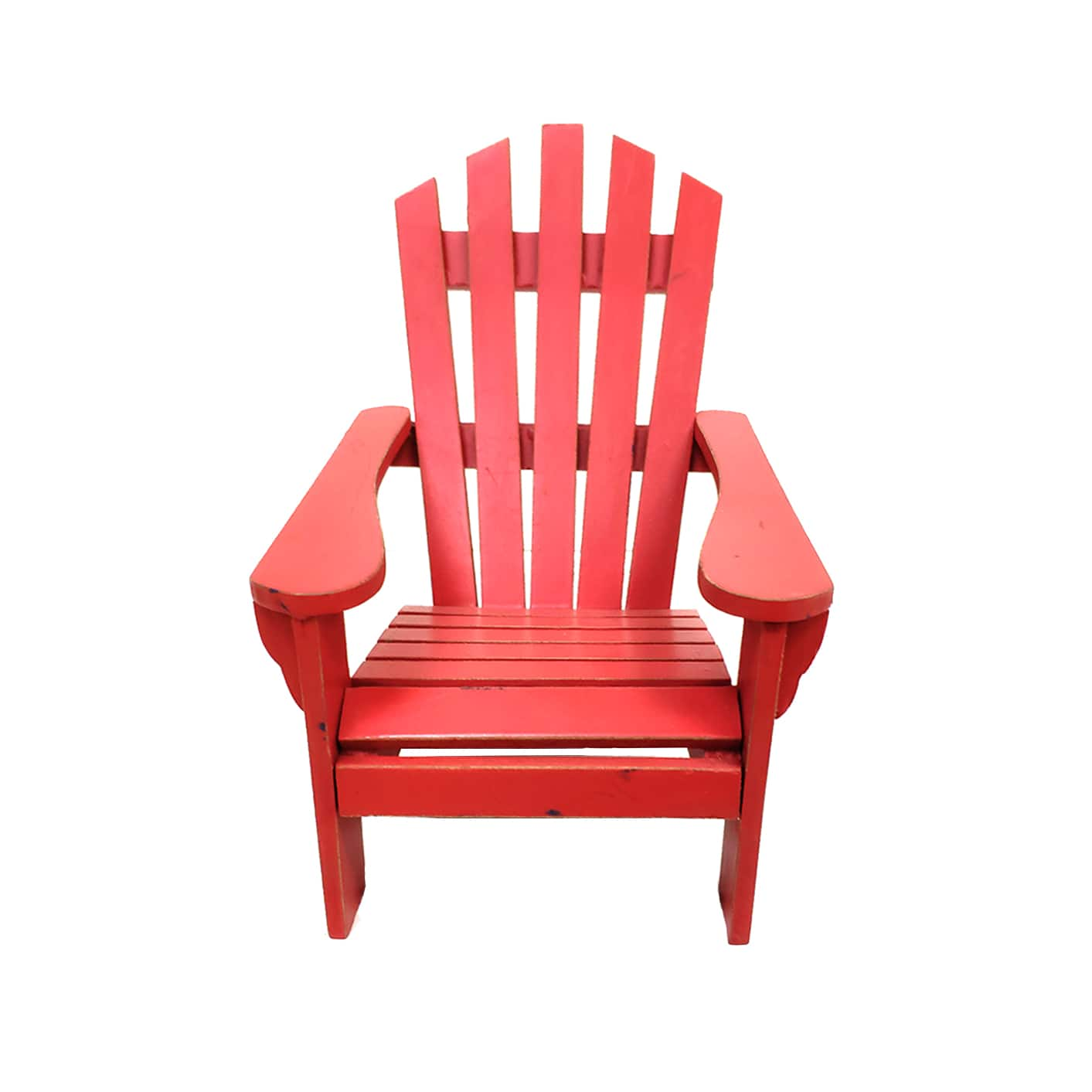 Red Adirondack Chairs Red Mini Tabletop Adirondack Chair By Ashland