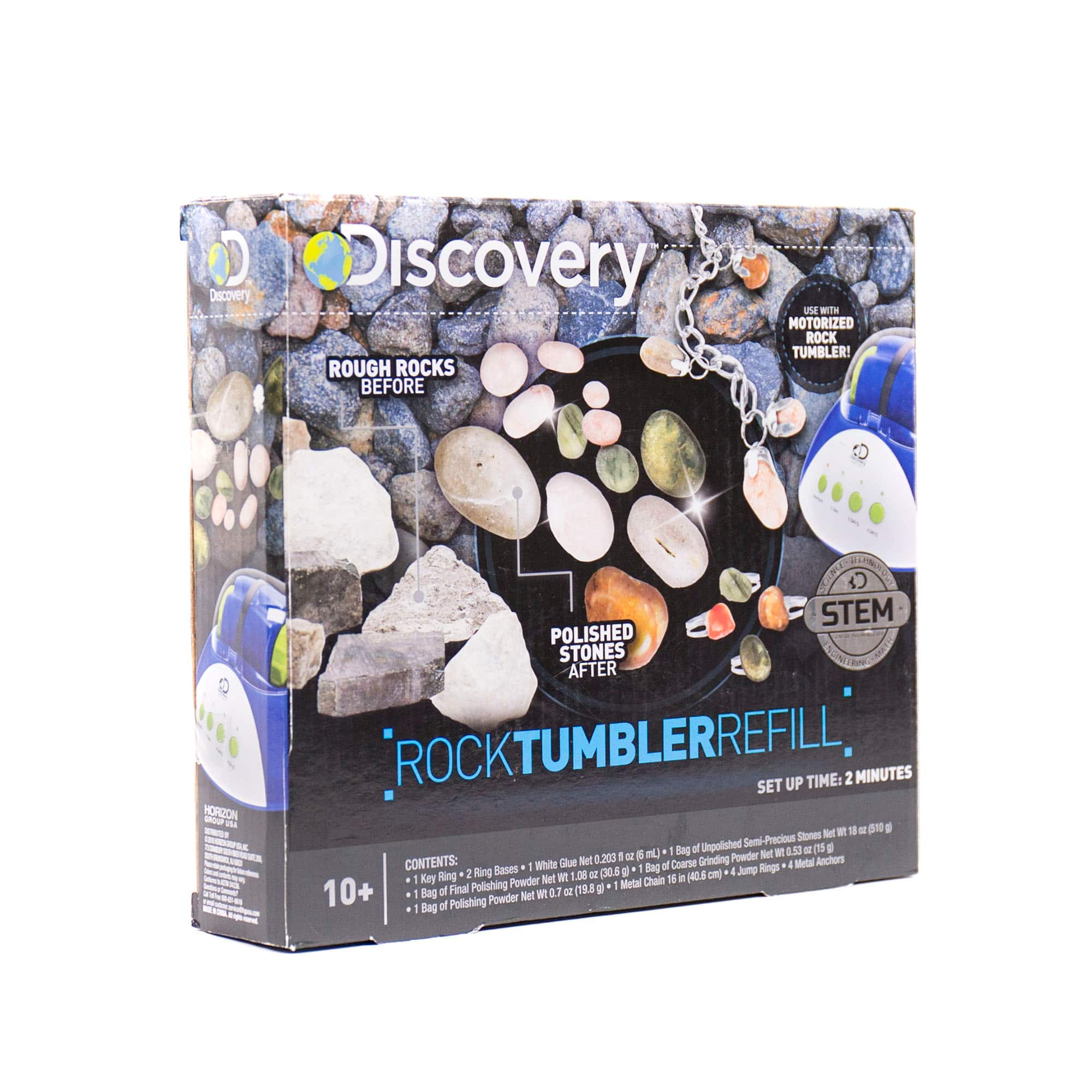 Find the Discovery Kids Rock Tumbler Refill at Michaels
