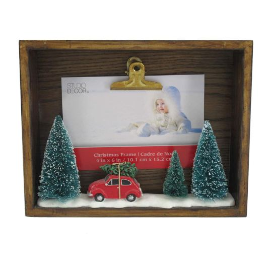 Clip Photo Frame With Car Tree By Studio Décor
