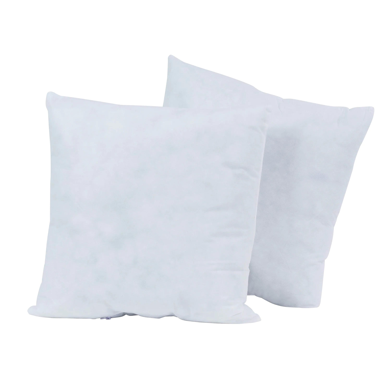 poly fil basic 2ct pillow inserts 18 x 18