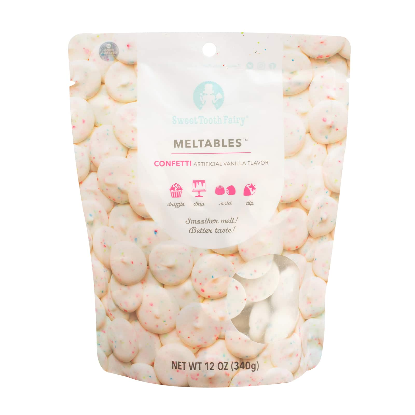 sweet tooth fairy meltables confetti
