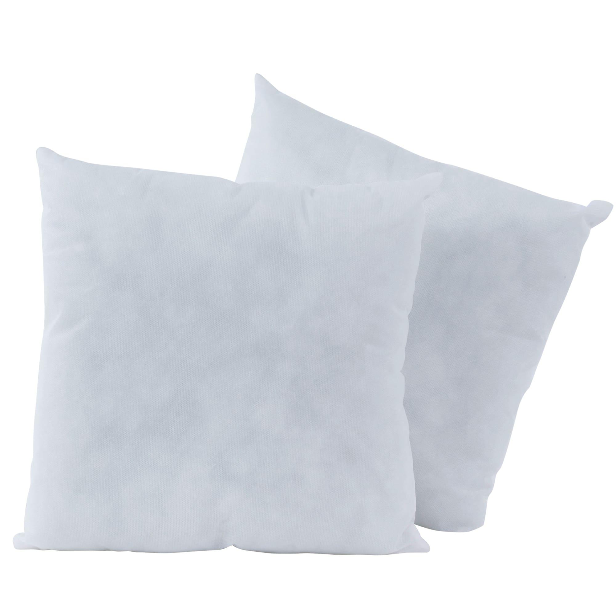 poly fil basic 2ct pillow inserts 14 x 14