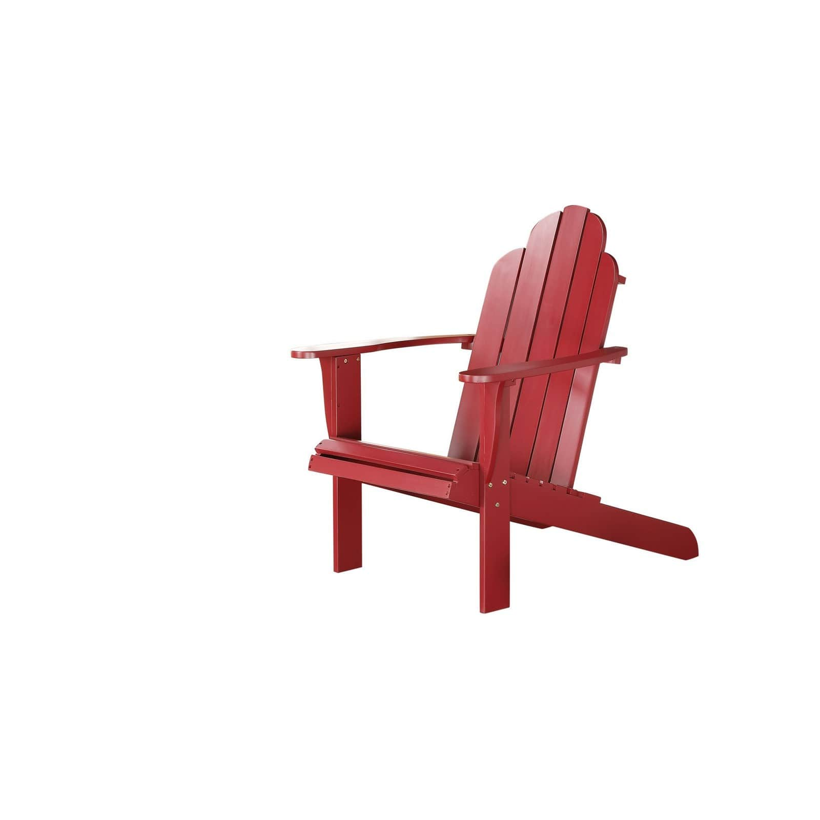 red adirondack chairs cheap universal chair covers for sale linon bradenton img