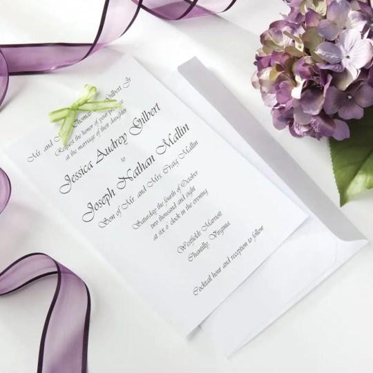 Celebrate It Occasions Wedding Invitations