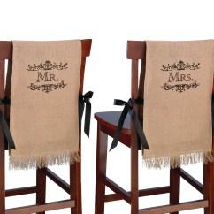 Chair Covers Michaels Wheelchair Movie Lillian Rose Mr Mrs Rustic Burlap Img