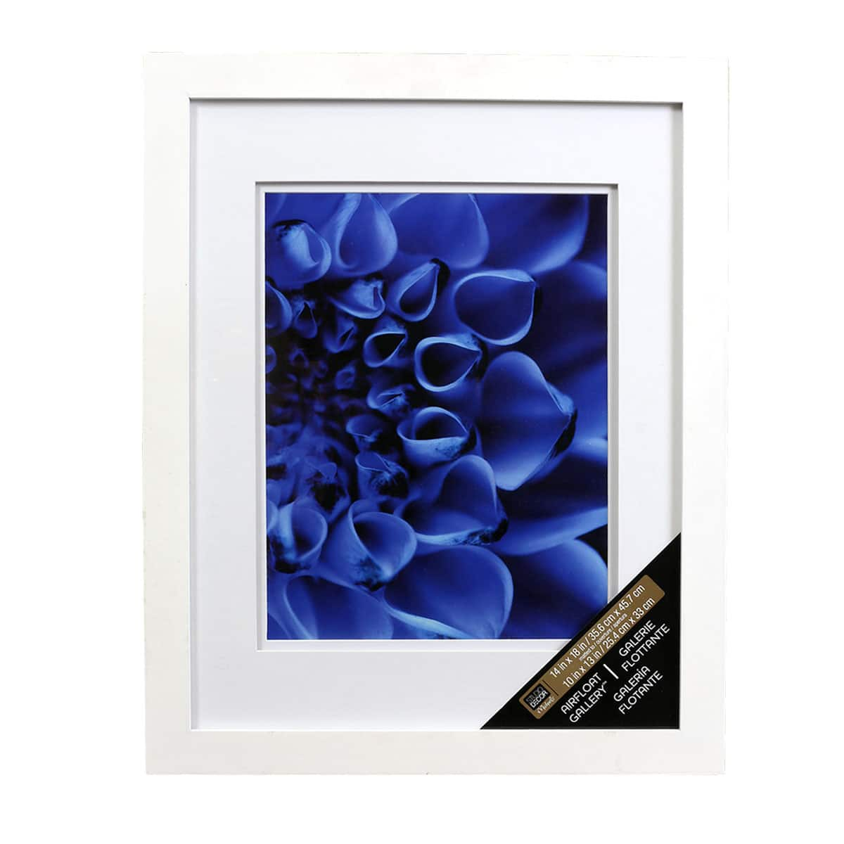 White Wall Frame With Double Mat Studio