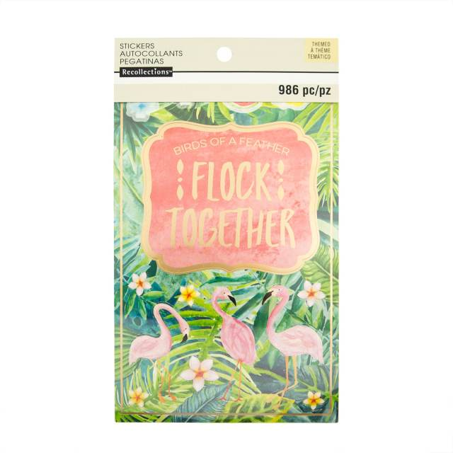 Michaels Tropical Life Sticker Book by Recollections
