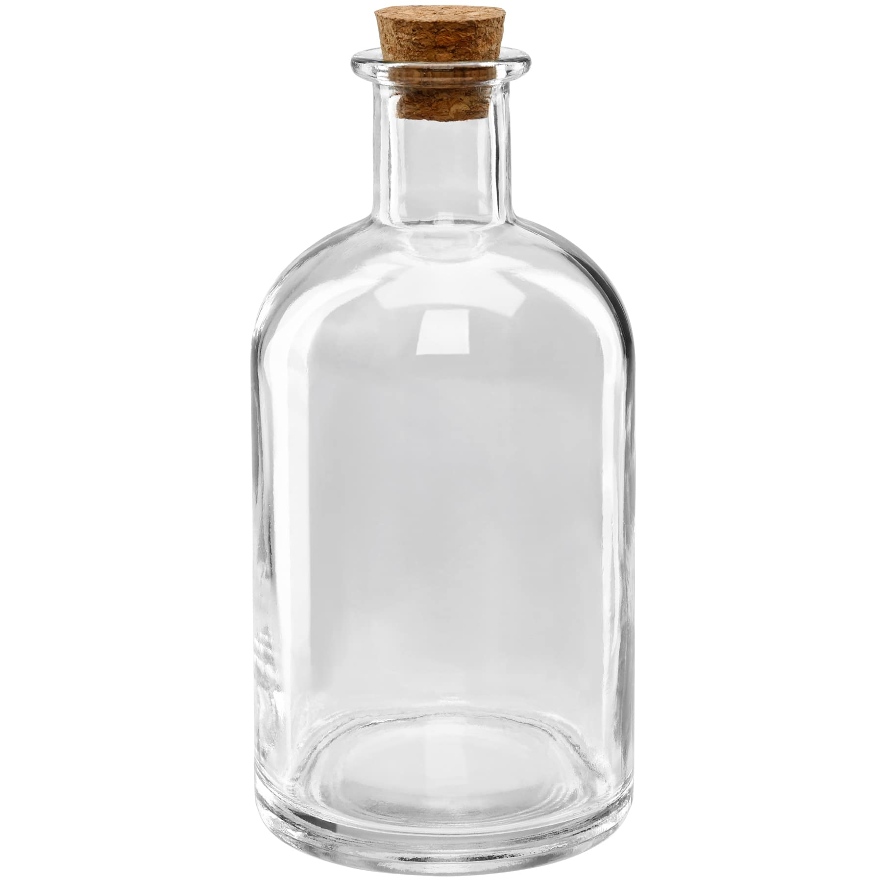 mini glass bottle with
