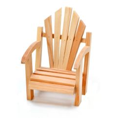 Adirondack Chair Wood Wedding Covers Hire Birmingham Unfinished Miniature Promotions