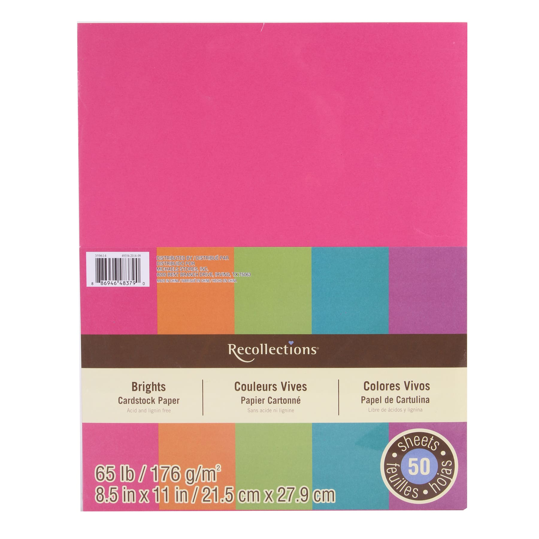 brights cardstock paper by