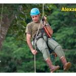 Alexander Blanco: el guardián de las águilas arpías, las diosas del viento