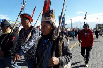 Nema Grefa, presidenta del pueblo Sápara, en Colombia, ha sido amenazada de muerte. Foto: Archivo Mongabay Latam