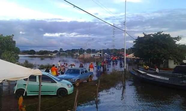 Desde junio, la población de Amazonas es afectada por una de las peores inundaciones de los últimos años. Foto: Olnar Ortiz - AC Kapé Kapé.