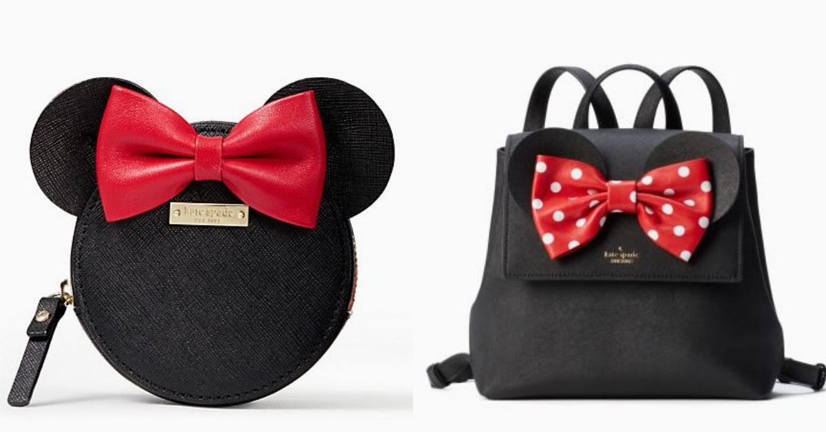 迪士尼聯名款正夯!Kate Spade全新米妮聯名款包包讓你少女心大爆發 | 迪士尼、聯名款、Kate Spade、米妮、包包 ...