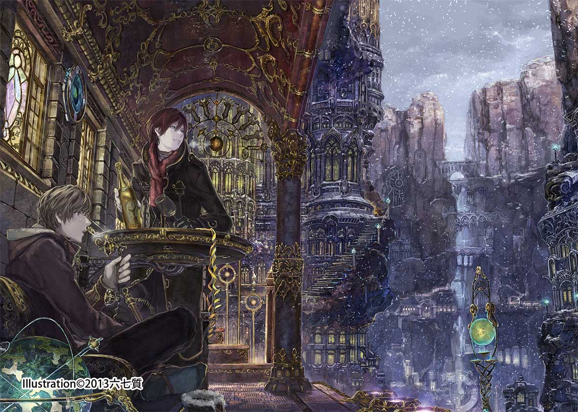 一起進入巨大怪奇建築的異空間!日本天才場景繪師「六七質」首次登臺開展! | 六七質、日本、插畫家 ...