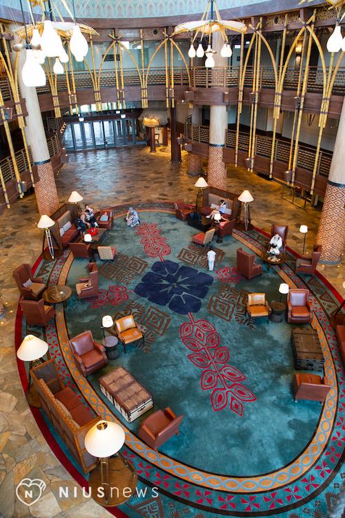 大廳地板@迪士尼探索家度假酒店