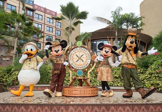 [新聞稿]慶祝「迪士尼探索家度假酒店」開幕!香港迪士尼打造遠離煩囂的家庭度假勝地 | 迪士尼探索家度假 ...