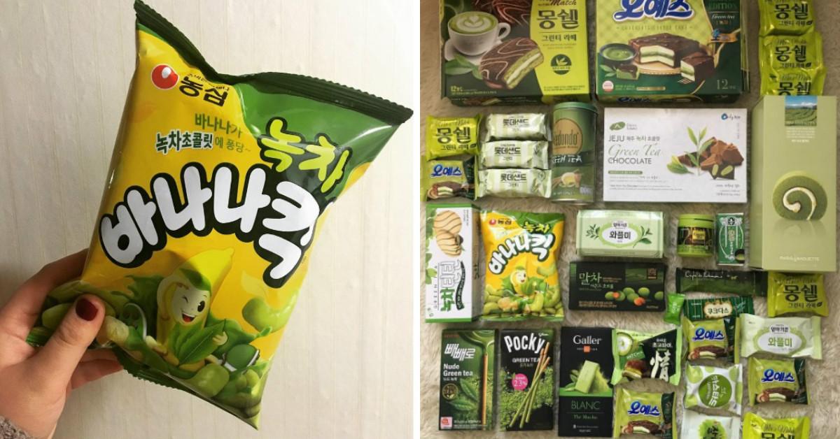 抹茶控想搬去韓國住了!韓國最近都在吃這5款抹茶零食 | 韓國、抹茶、抹茶零食、零食、巧克力派 | 生活發現 ...