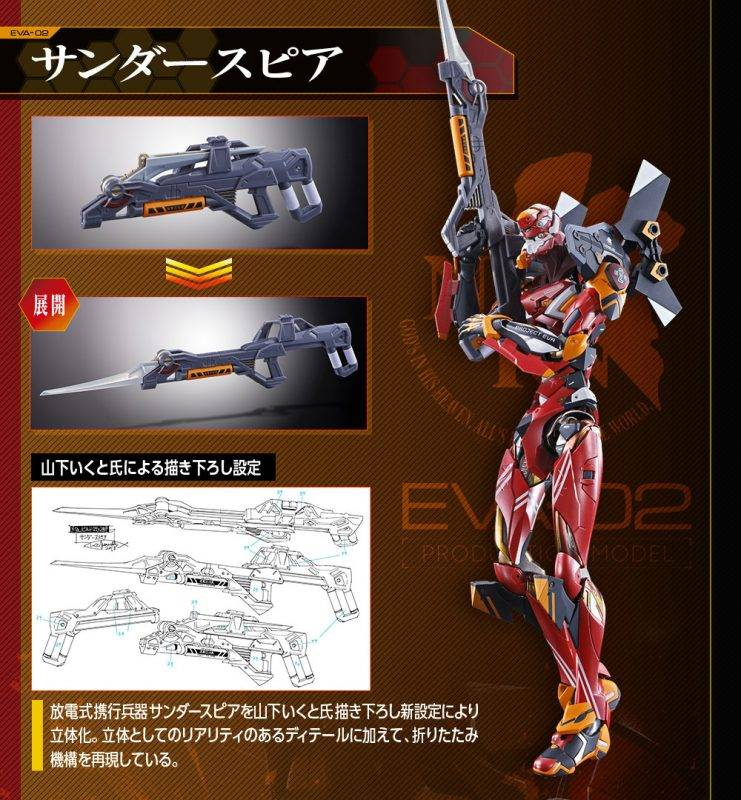 Metal Build, EVA, 2號機, 模型