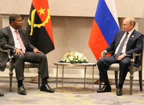 João Lourenço na Rússia para reforço da cooperação