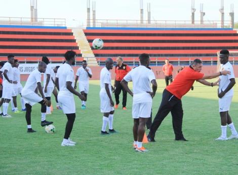 """Angola no Grupo """"E"""" com Mauritânia,Tunísia e Mali"""