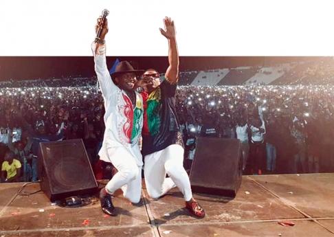 Maya Cool junta milhões no Estádio 24 de Setembro na Guiné-Bissau