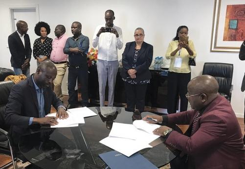 José Gombo assina parceria com o FAS