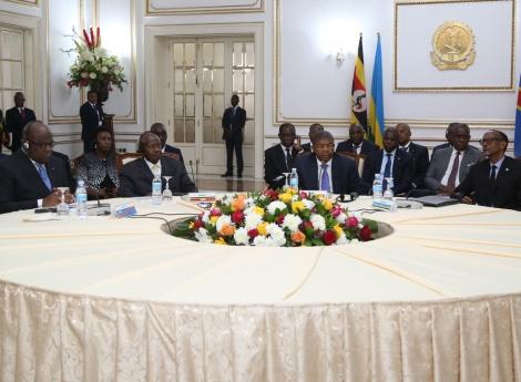 """João Lourenço: """"Problemas nas fronteiras entre RDC, Ruanda e Uganda podem ter dias melhores"""""""